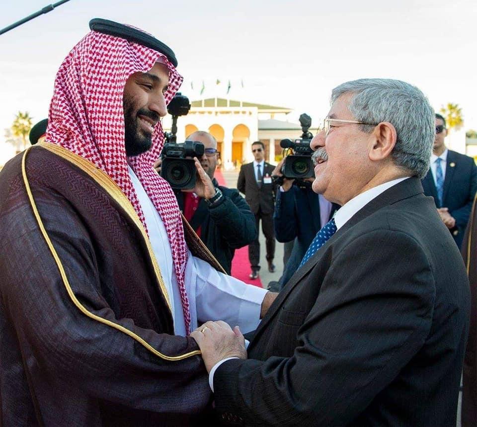 Mohamed Ben Salmane  à Alger