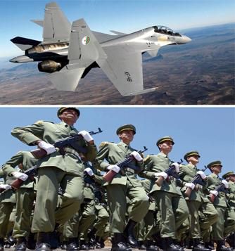 L'évolution des forces armées algériennes