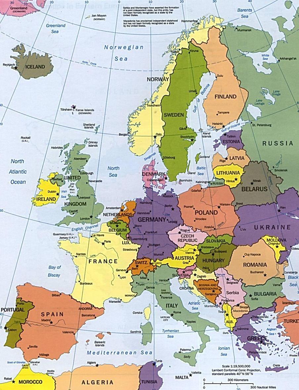 L'histoire de l'Europe : année par année
