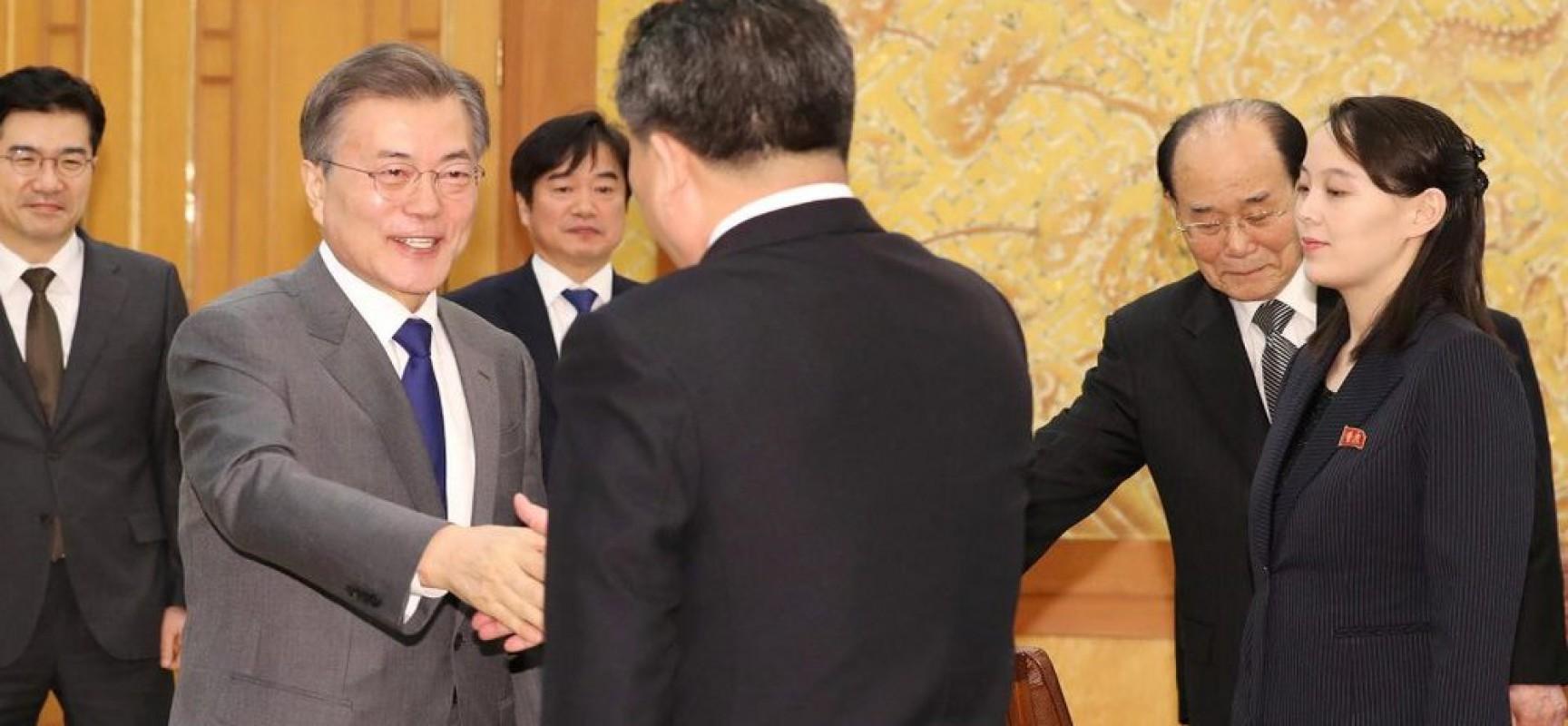 Les USA mal à l'aise face à l'amitié inter-coréenne