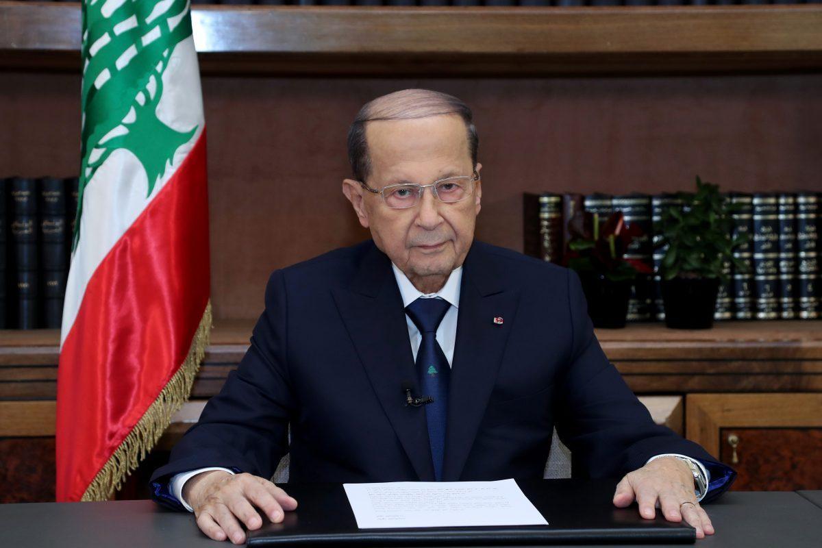 LIBAN / L'entretien exclusif en français du président Michel Aoun sur TV5 Monde