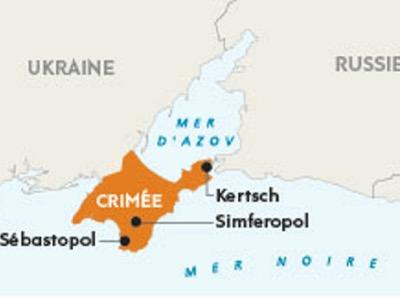 Déclaration de la Russie à propos de la mer d'Azov