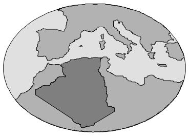 Plan détaillé de «l'Algérie Aléatoire»
