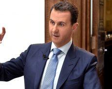 Syrie / Assad explique pourquoi certains pays empêchent les réfugiés de rentrer en Syrie