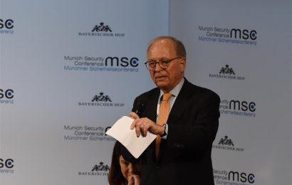 Conférence internationale sur la sécurité: La fracture de l'Occident