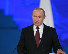 Russie / Vladimir Poutine devant le parlement pour son discours annuel (vidéo)