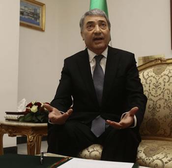 benflis Le président de Talaie El Hourriyet