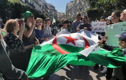 Marée humaine à Alger et dans plusieurs wilayas revendiquant le changement du système