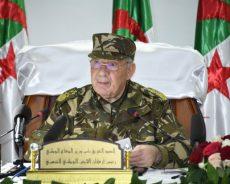 Algérie / Le discours intégral de Gaïd Salah
