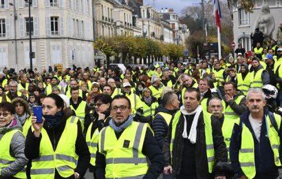 France / 27 500 manifestants pour la 23ème journée de mobilisation des «gilets jaunes»