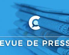 Revue de presse du 09/09/2019