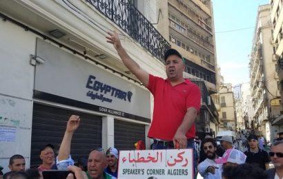 A Alger, premier vendredi de manifestation depuis le début du ramadan (images)