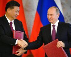 Vladimir Poutine et Xi Jinping font une déclaration conjointe à Moscou