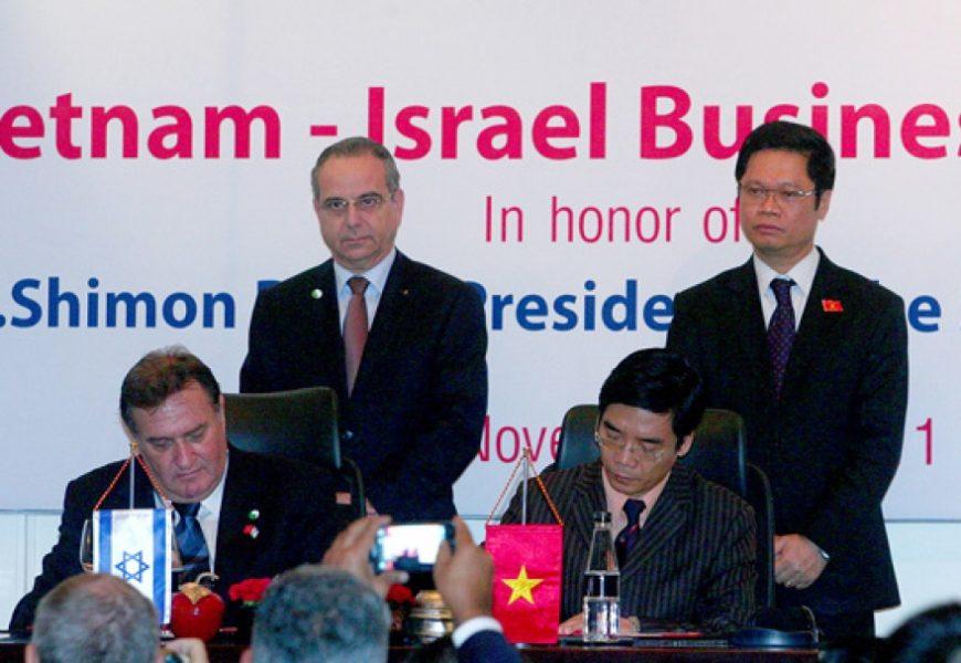 Renforcement des relations entre le Vietnam et Israël