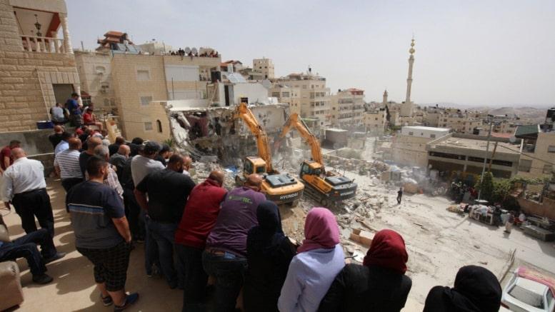 demolition palestine