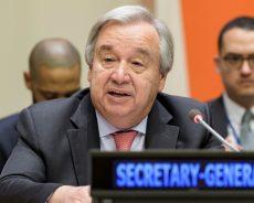 Il reste beaucoup à faire pour répondre à l'urgence climatique, déclare António Guterres à Abou Dabi