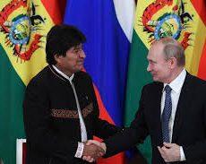 Moscou : Vladimir Poutine et Evo Morales donnent une conférence de presse