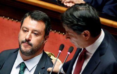 Crise politique en Italie
