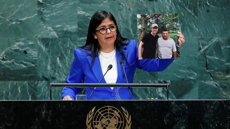 «Je viens au nom de l'unique Venezuela» : la vice-présidente de Maduro s'est exprimée à l'ONU