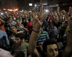 Egypte / Manifestation place Tahrir au Caire pour réclamer le départ d'Abdel Fattah al-Sissi (Vidéos)