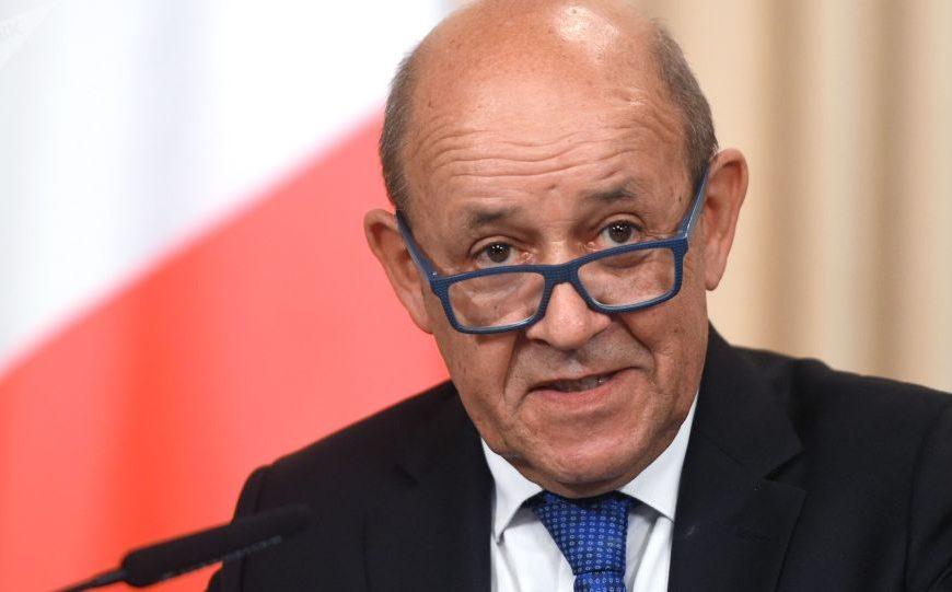 France / Le Drian répond à la question de Sputnik sur l'accréditation de ses journalistes