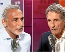 France / Tariq Ramadan est face à Jean-Jacques Bourdin sur RMC et BFMTV
