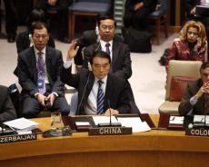 «C'est la même chanson» a ironisé l'ambassadeur russe à l'ONU