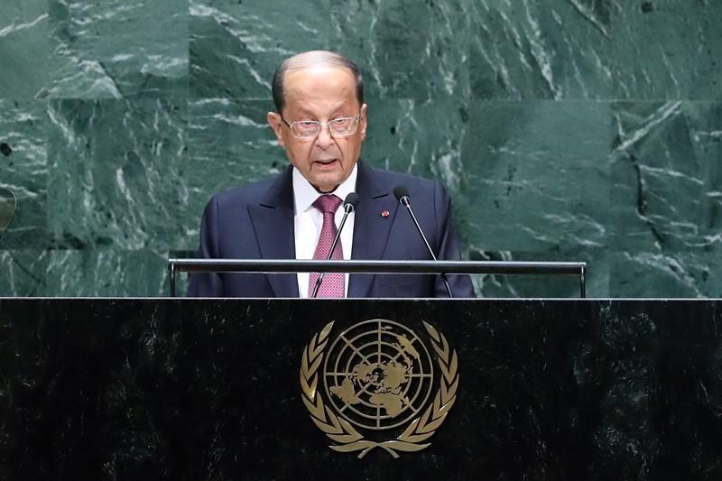 ONU / Michel Aoun réitère le droit du Liban à se défendre face à Israël par tous les moyens disponibles