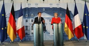 La France et l'Allemagne affichent l'unité avant un sommet européen crucial