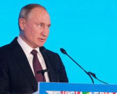 Poutine : «Le terrorisme, le piratage et le printemps arabe empêchent le développement» de l'Afrique