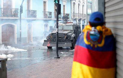 Equateur / Après avoir appliqué les plans du FMI, Moreno décrète l'état d'urgence face aux blocages