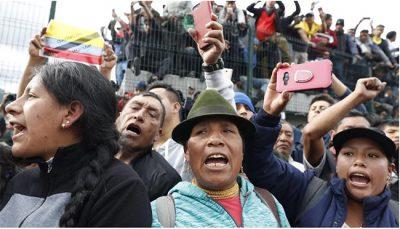 Équateur / Un nouveau cycle de résistance populaire contre le néolibéralisme commence