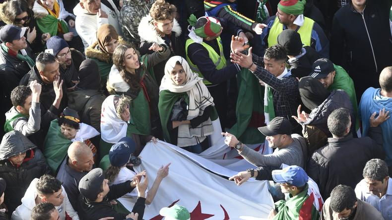 Algérie / Manifestations nocturnes contre l'élection présidentielle à venir