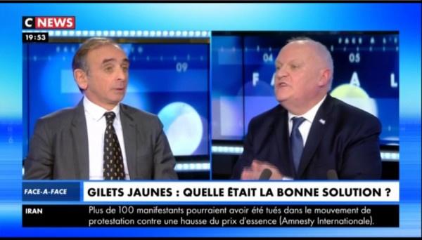 France / Eric Zemmour Vs François Asselineau « Vous faites exactement le contraire du Général De Gaulle que vous citez » (vidéo)
