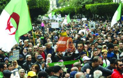 Algérie / Les manifestants déterminés à poursuivre la lutte pacifique : Le serment du hirak pour le changement !