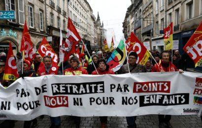 France / Le mouvement contre la réforme des retraites entre âge pivot et Euro