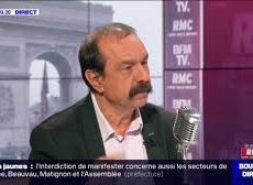 France / Philippe Martinez (CGT) face à Jean-Jacques Bourdin en direct