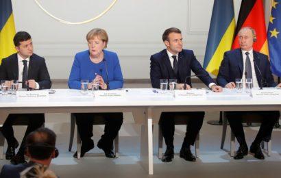 Sommet au «format Normandie» : les quatre dirigeants s'engagent à stabiliser l'est ukrainien