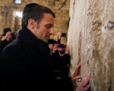 Macron en Israël : Les Palestiniens en catimini. La honte de la France.