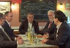 Conférence des éconoclastes (Sabatier, Béchade) et de Pierre Conesa à l'École de Guerre