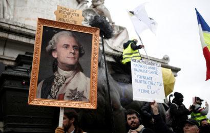 En France, les manifestations montrent que la véritable utopie est bien la vision de Macron