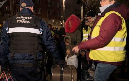 France / Démantèlement du campement de migrants parisien de la porte d'Aubervilliers – vidéo