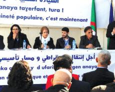 Algérie / Le mouvement a tenu ses assises hier à Alger : Le PAD tient à «la transition démocratique»