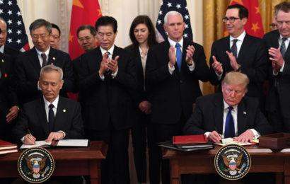 La Chine et les Etats-Unis marquent une pause dans leur guerre commerciale