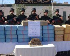 L'armée algérienne a encore saisi près d'une tonne de cannabis à la frontière avec le Maroc – photos