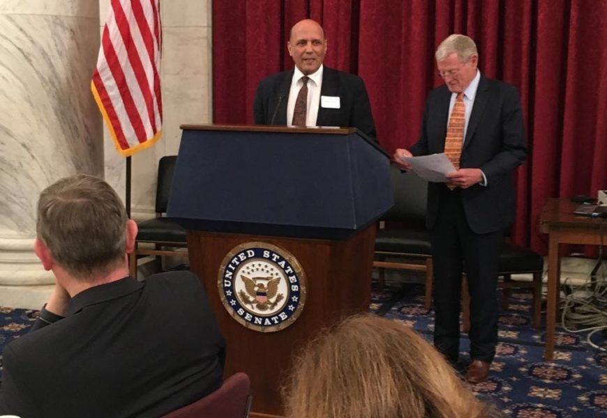 Le représentant sahraoui à Washington prononce un discours au nom de l'Afrique au Sénat américain