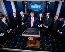 Coronavirus : quel est le discours de Donald Trump face à l'épidémie ?
