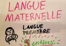 Les langues maternelles, étant naturellement acquises, ne s'enseignent pas, elles se formalisent