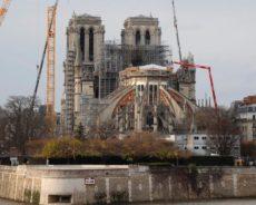 France / Un aperçu de la restauration de la cathédrale Notre-Dame
