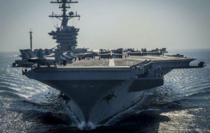 Un porte-avion américain en Asie frappé de plein fouet par le coronavirus